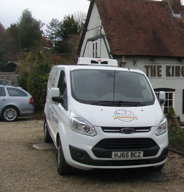 butchers temperature controlled delivery van